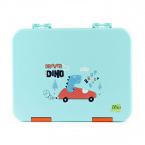 Lunchbox - Dino Turquoise
