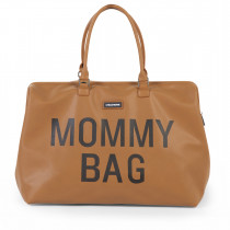 Mommy Bag Big-Leatherlook Brown