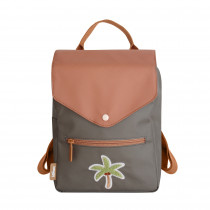 Tropical Patch Backpack - Palm Tree