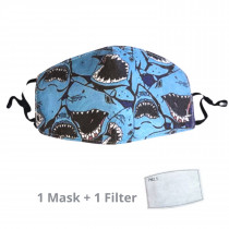 Kids Face Mask Shark