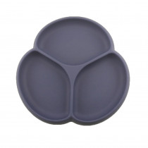 Silicone Suction Plate - Midnight Blue