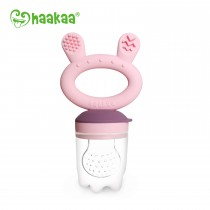 Fresh Food Feeder And Teether - Pink