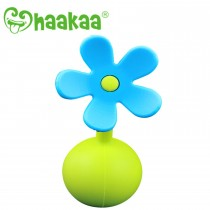 Silicone Breast Pump Flower - Blue