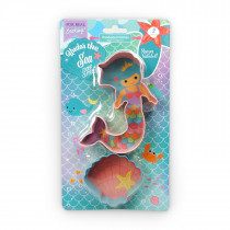 Set of 2 Mermaid Cookie Cutter Set