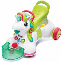 3-in-1 SIT,WALK & RIDE UNICORN