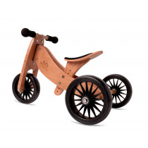 2-in-1 Tiny Tot PLUS Tricycle & Balance Bike - Bamboo