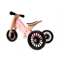 2-in-1 Tiny Tot PLUS Tricycle & Balance Bike - Rose