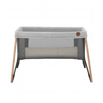 Iris Travel Cot -  Essential Graphite