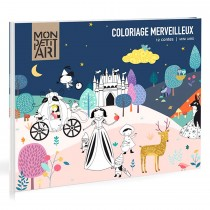 12 Fairy Tales Colouring Book Multicoloured