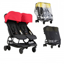 Mountain Buggy NANO DUO Combo RUBY RED