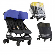 Mountain Buggy NANO DUO Combo NAUTICAL BLUE
