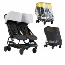 Mountain Buggy NANO DUO Combo SILVER