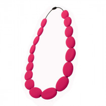 Nibbly Bits - Flat Bead Necklace Scarlet Red