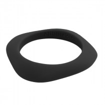 Nibbly Bits - Flat Stackable Bracelet Black