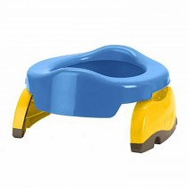 Potette Plus 2 in 1 - Royal Blue/Yellow