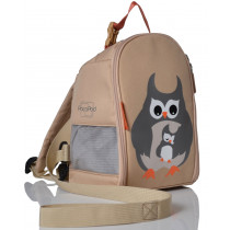 Toddler Pod - Grey Owl & Babe