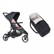 Dot Buggy & Cocoon Package - Blush