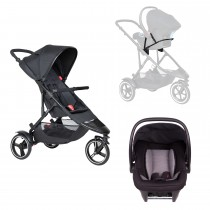 Dot Buggy Travel System - Black