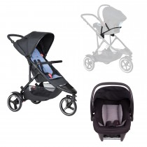 Dot Buggy Travel System - Sky