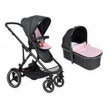 Voyager Buggy & Carrycot Package - Blush