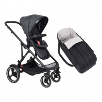 Voyager Buggy & Cocoon Package - Black