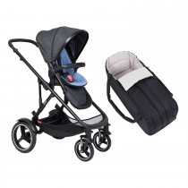 Voyager Buggy & Cocoon Package - Sky