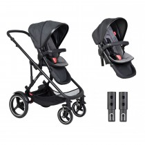 Voyager Buggy Double - Charcoal