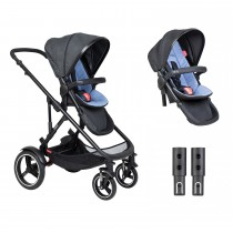 Voyager Buggy Double - Sky