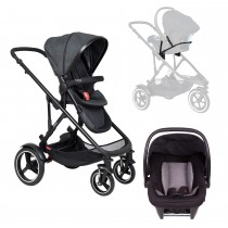 Voyager Buggy Travel System - Black