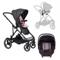 Voyager Buggy Travel System - Blush