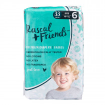 Rascals + Friends Nappies  Junior (16KG+ 33PK)