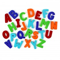 Soft Toy-Alphabet Set Upper Case Large Magnetic