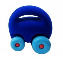 Soft Baby Educational Toy-Original Mascot Car- Blue