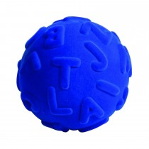 Soft Baby Educational Toy-Alphalearn Ball Uppercase (Blue)