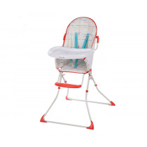 Kanji Highchair Red Lines