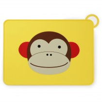 Zoo Silicone Placemat - Monkey