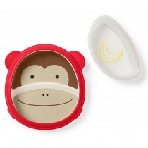 Zoo Smart Serve Plate & Bowl Set - Monkey