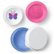 Zoo Smart Serve Non-Slip Bowls - Butterfly
