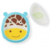 Zoo Smart Serve Plate & Bowl Set - Giraffe