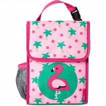 Zoo Lunch Bag- Flamingo