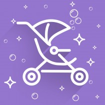 Sparkle VIP for Strollers - Single Stroller
