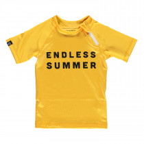 Endless Summer Tee - Burnt Yellow