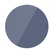 SPOTTED Clean Wean Mats - BLUE PANSAY