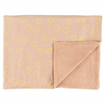 Fleece Blanket (75cm x 100cm) - Lemon Squash