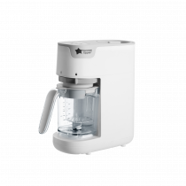 Quick Cook Baby Food Steamer Blender-White