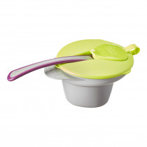 Explora Cool & Mash Weaning Bowl - Yellow
