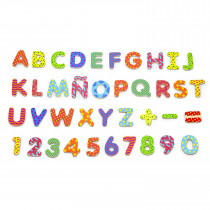 Colorful Magnetic Letters & Numbers 77 pcs