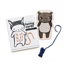 Baby Animals Lacing Cards