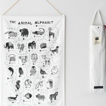 Animal Alphabet Wall Hanging