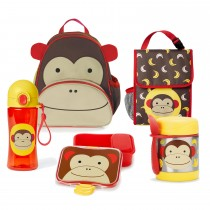 Zoo Nursery & pre-school lunch essentail Bundle  - Monkey